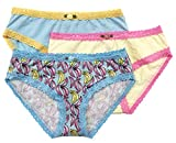 Esme Girl's Panty L 7-8 Banana (3PCs)