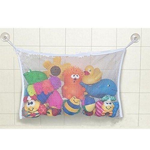 GUAngqi Baby Bath Time Toy Storage Suction Bag Mesh Net Bathroom Organiser