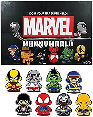 New Kid Robot Marvel Micro Munny Series 2 Blind Box