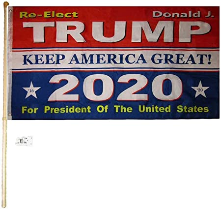 3/'x5/' Flag Trump 2020 NO MORE BULLSHIT President Donald USA Patriot 3x5 Feet
