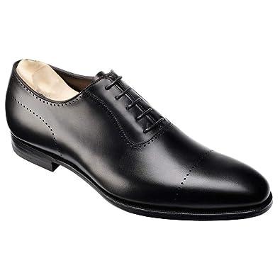 ed5d3e07b02f1e Costoso Italiano Black Leather Formal Lace Up Oxford Brogue Shoes for Men  (10)