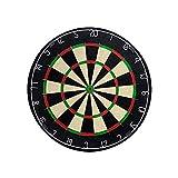 BleuMoo Tournament Dart Board Indoor Wall Mount Target Games Steel Tip 18 Inch Hanging