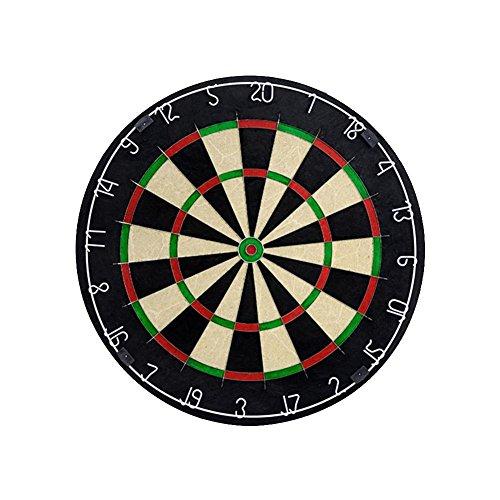 bleumoo Tournament Dart Boardインドア壁マウントターゲットゲームSteel Tip 18インチHanging