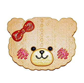 3daf0fff9 Super Cute Off-white Bear with Pink Bow Tie Contact Lens Box: Amazon ...