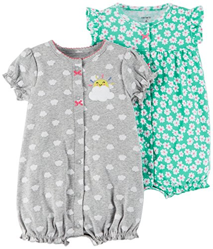 Carter\'s Baby Girls\' 2-Pack Romper,