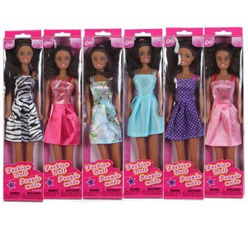 African-American Fashion Dolls, 11
