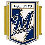 WinCraft MLB Milwaukee Brewers 15399215 Collector Pin Jewelry Card