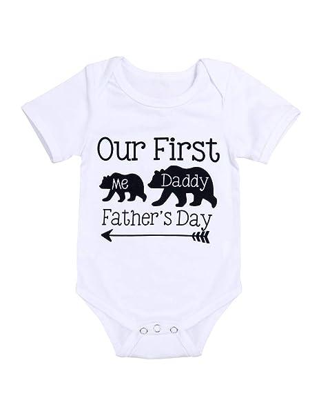 Amazon.com: Nuestro primer día del padre trajes recién ...