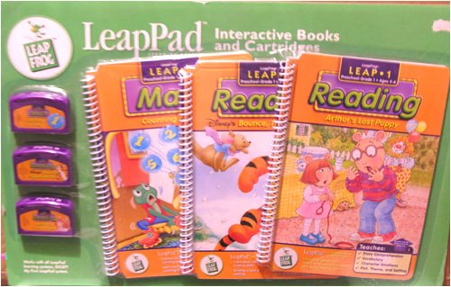 LeapPad Music, Hit It Maestro; Science, I Know Where My Food Goes & Reading, Scooby-Doo and the Zombie's Treasure 3 Pack Set, Interactive Books & Cartridges by LeapFrog by LeapFrog