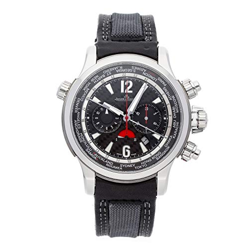 Mens Compressor Black Dial - Jaeger-LeCoultre Master Compressor Mechanical (Automatic) Black Dial Mens Watch Q1768451 (Certified Pre-Owned)
