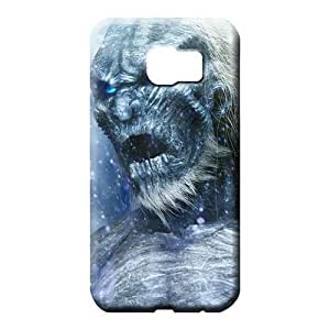 samsung galaxy s6 Excellent Fitted Unique Fashionable Design phone carrying skins game of thrones - white walkers