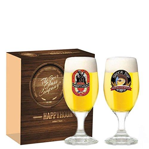Kit Taca Cerveja Happy Hour 330ml 2pecas