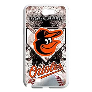 Top Designer Samsung Case MLB Baltimore Orioles for Samsung Galaxy Note 2 N7100 Case Cover