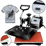 "Super Deal Newest 12"" X 10"" Heat Press Machine Clamshell Sublimation Transfer Machine"