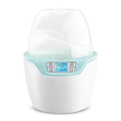 LINAG Bebé Calentador Botella Calentar Leche Eléctrico Útil Esterilizador Multifunción Biberones Calentamiento Inteligente Alimentos Temperatura Constante