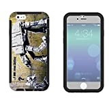 548 - Banksy Grafitti Art Robot Star wars Design iphone 5 5S Full Body CASE With Build in Screen Protector Rubber Defender Shockproof Heavy Duty Builders Protective Cover