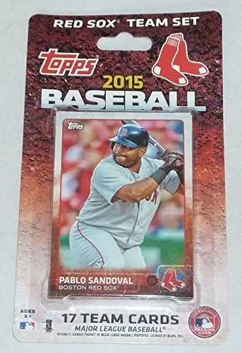 2015 Boston Red Sox Topps Factory Sealed Limited Edition 17 Card Team Set with Dustin Pedroia, David Ortiz ()