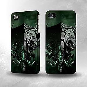 Apple iPhone 4 / 4S Case - The Best 3D Full Wrap iPhone Case - Alien Queen