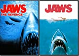 JAWS & Jaws The Revenge DVD Movie Double Feature Horror