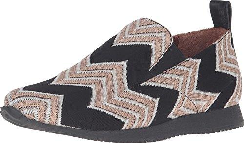 Missoni Dames Geprinte Instappers Sneaker Beige