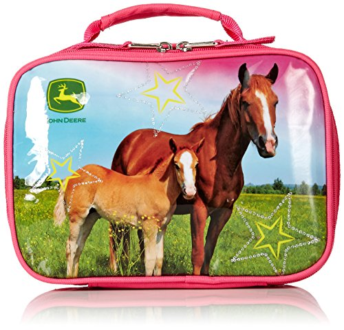 John Deere Little Kids Boys Girls Lunchbox, MAGENTA, Child (In Made John Deere)