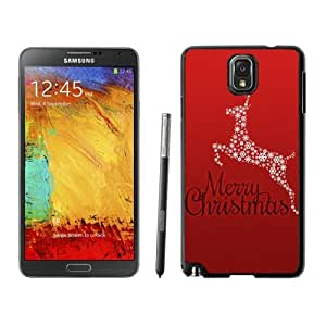 Personalized Design Christmas animals Black Samsung Galaxy Note 3 Case 3