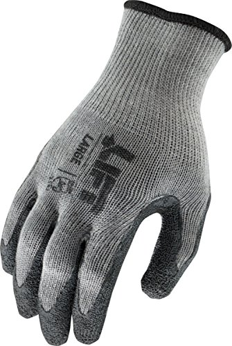 LIFT Safety Palmer L-Tac Gloves (Grey, Large)