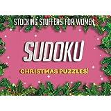 Stocking Stuffers For Women: Christmas Sudoku Puzzles: Sudoku Puzzles Holiday Gift Ideas For Women And Sudoku Stocking Stuffers