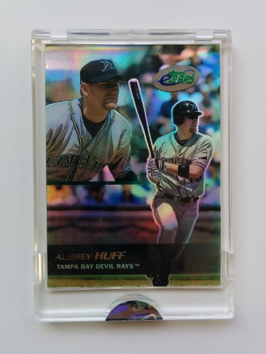2003 eTopps #9 Aubrey Huff 1 of 3234 Baseball Card Tampa Bay Devil Rays