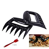 ALhao Kitchen Supplies BBQ Meat Handler Forks BBQ Claws - Meat Shredder Claws Grill Smoker Bear Paw, Meat Claws, Smoked Barbecue Grilling Accessories (Barbecue Claws)