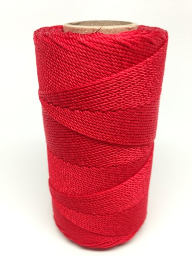 (Rosary Twine #9 (1.07 mm) - SGT KNOTS - 3 Strand Twisted Nylon Crafting Twine Made for Rosaries - Easy to Work With, Soft, Even Consistency, Holds Knots - for)
