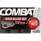 Combat Large + Small Roaches Roach Killing Bait Stations, 12 count, Pack of 1