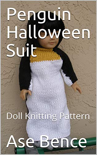 Penguin Halloween Suit: Doll Knitting Pattern -