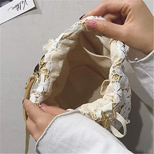 a portatile moda estiva spiaggia wave a new tracolla tracolla tessuta con Borsa YMYM borsa da RUzw0wxP