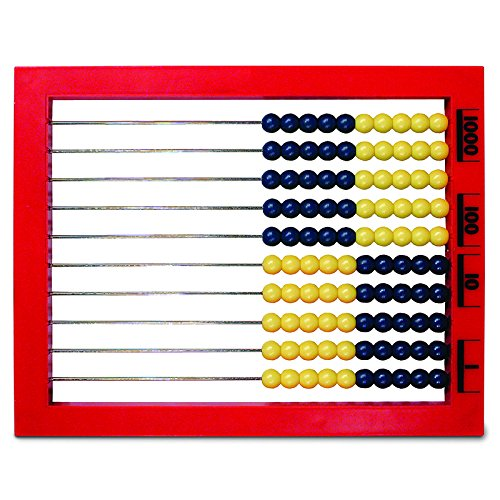 LEARNING RESOURCES 2 COLOR DESKTOP ABACUS (Set of 6)