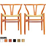 Amazoncom Orange Chairs  Kitchen  Dining Room Furniture - Orange dining room chairs