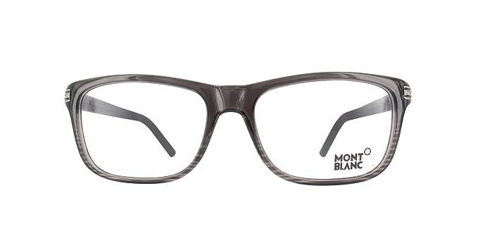 3385783f59 Eyeglasses Montblanc MB 532 MB0532 001 shiny black at Amazon Men s ...