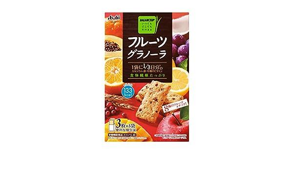 balance de alimentos Grupo Asahi cajas 150gX5 de granola de frutas: Amazon.es: Alimentación y bebidas