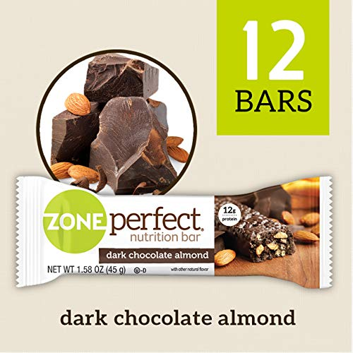 ZonePerfect Nutrition Snack Bars, Dark Chocolate Almond, 1.58 oz, (12 ()