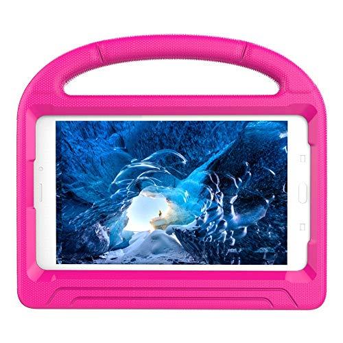 Vansee❤❤Children Kids Case Safe EVA Foam Cover Skin for Galaxy Tab A 8.0 T385 2017 (Hot Pink)]()
