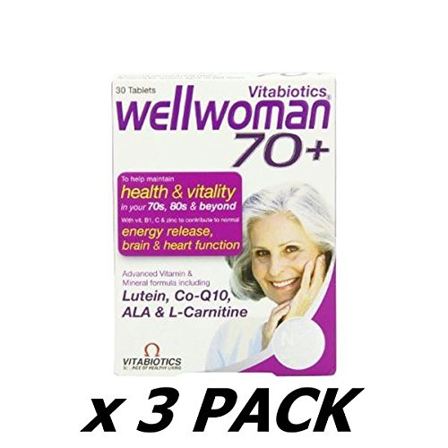 Wellwoman Tablets 70 Plus - Pack Of 30 Tablets (Pack of 3)