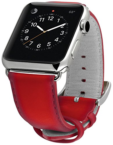 ullu Apple Watch Band for Series 1 & Series 2 in Premium Leather - Bloody Hell - UAWS42SSVT96 by ullu (Image #2)