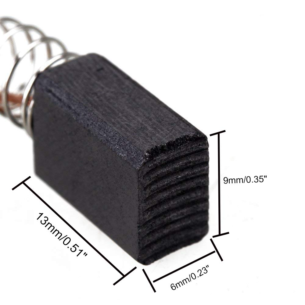 Pack of 20 Rannb Carbon Brushes Electric Motor Brushes Replacement for Electric Motor