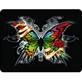 "4"" BUTTERFLY Printed vinyl decal sticker for any smooth surface such as windows bumpers laptops."
