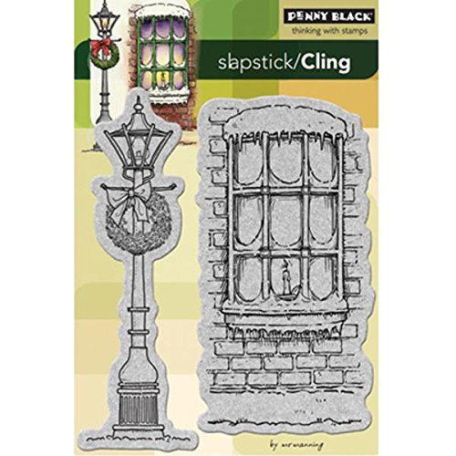 Penny Black 40-174 Winter Illumination Cling Rubber Stamp by Penny Black