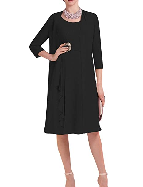 Plus Size Mother of The Bride Dresses Tea Length Mother of ...