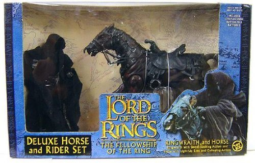 wholesape barato Lord of the Rings Deluxe Horse and Rider Set Ringwraith Ringwraith Ringwraith and Horse by Juguete Biz  más orden