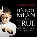 It's Not Mean If It's True: More Trials from My Queer Life Audiobook by Michael Thomas Ford Narrated by John Detty