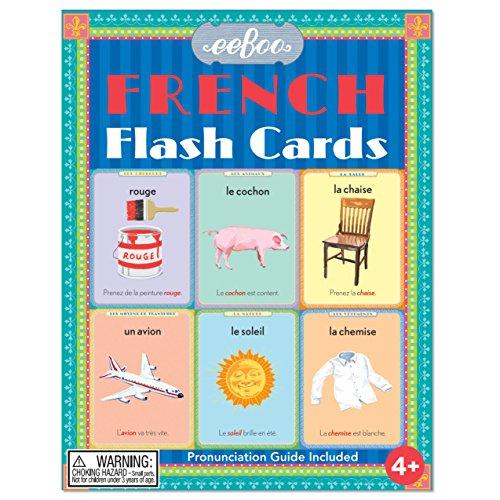 eeBoo French Flash Cards