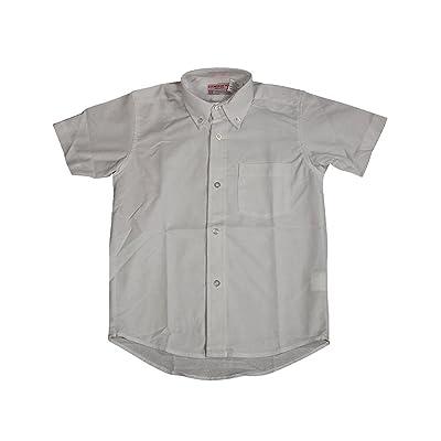Culwell & Son - Big Boys' Short Sleeve Oxford Shirt
